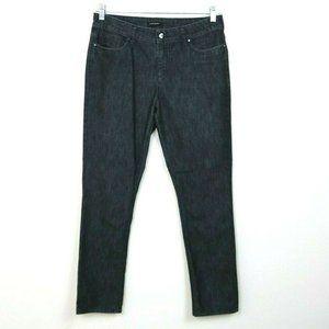 Chaus Sport Womens Jeans Skinny Pockets Solid Dark
